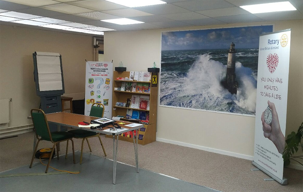 Powys Safety Solutions training room